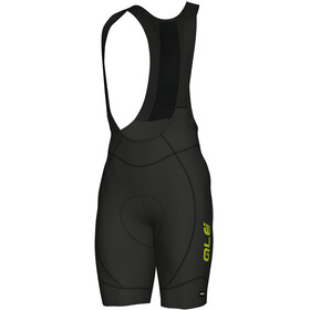 Alé Cycling PRR 2.0 Agonista 2 Bibshorts Men black-fluo yellow